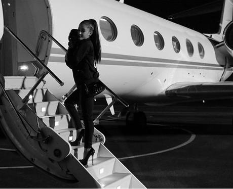 Ariana Grande Private Jet Instagram