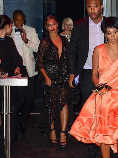 Beyonce, Jay Z and Solange