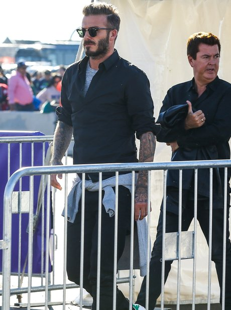 David Beckham Super Bowl 2015