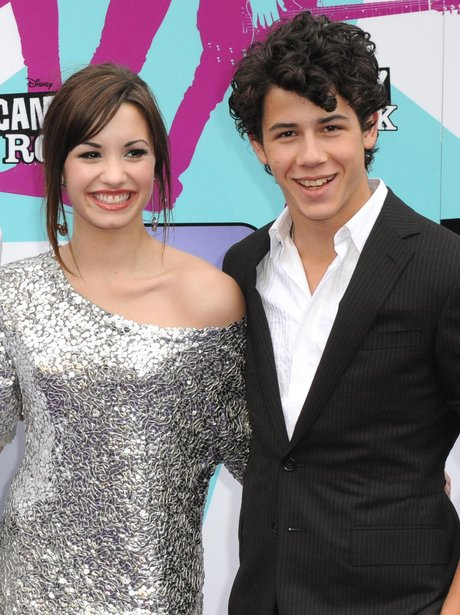 Demi Lovato and Jonas Brothers