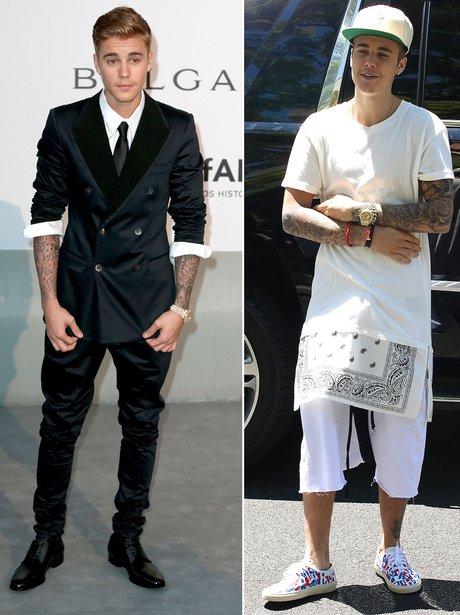 Justin Bieber: Dressed Up Or Down?
