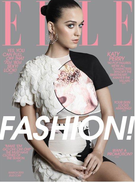 Katy Perry ELLE Magazine 2015
