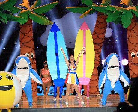 Katy Perry at the Super Bowl
