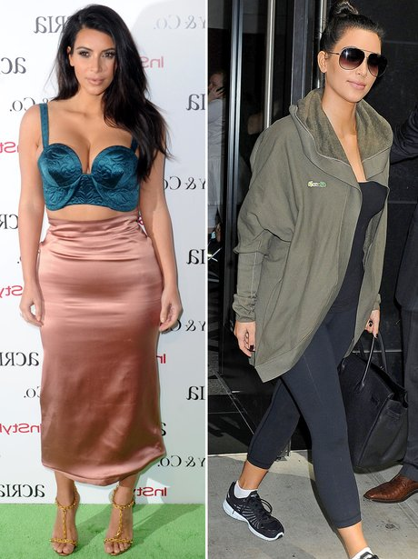 Kim Kardashian: Dressed Up Or Down?