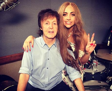 Lady Gaga Paul McCartney Instagram
