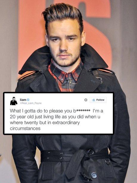 Liam Payne Twitter Rant