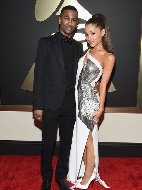 Big Sean and Ariana Grande Grammy Awards 2015