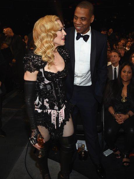 Jay Z and Madonna Grammy Awards 2015