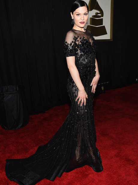 Jessie J at the Grammy Awards 2015