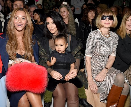 Beyonce, Kim Kardashian. Anna Wintour