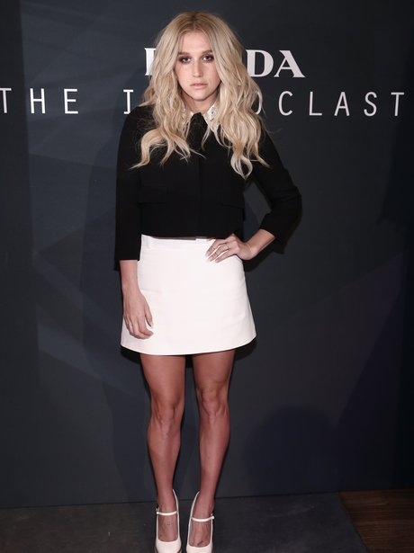 Kesha in new york fashion week