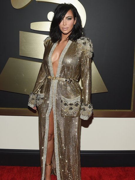 Kim Kardashian Grammy Awards 2015