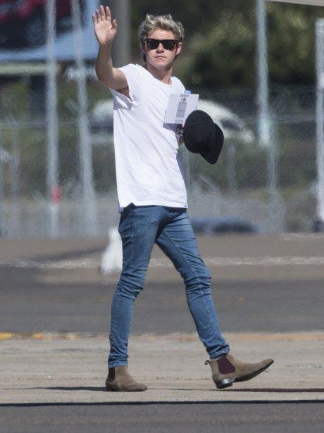 Niall Horan leaving Sydney