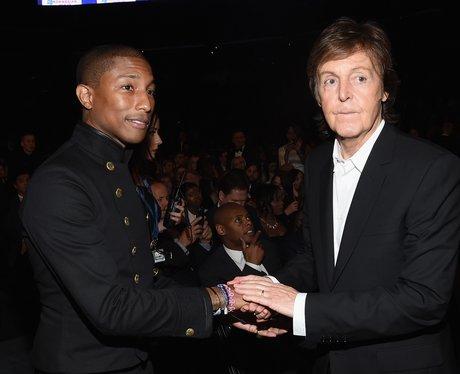 Pharrell and Paul McCartney