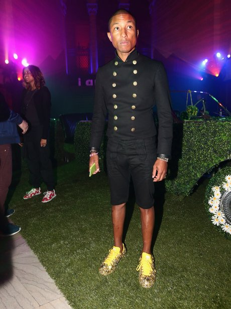 Pharrell Grammy Awards After Party 2015