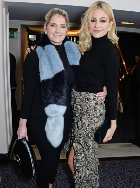 Pixie Lott with her sister