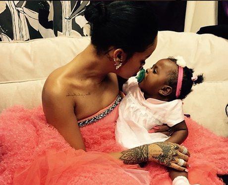 Rihanna and Niece Grammy Awards