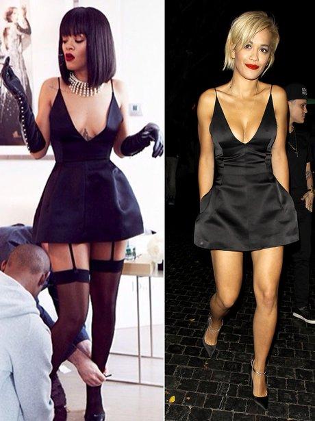 Rihanna and Rita Ora Fashion Face Off
