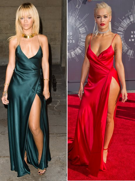 Rihanna and Rita Ora Fashion Face Off