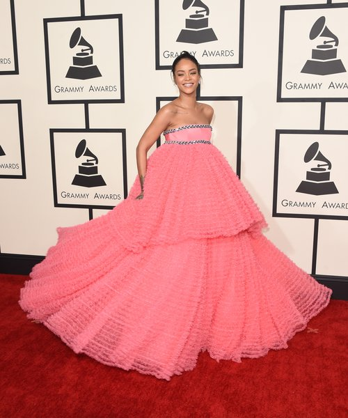 grammys fashion katy perry rihanna ariana grande dominate the red carpet arrivals capital grammys fashion katy perry rihanna