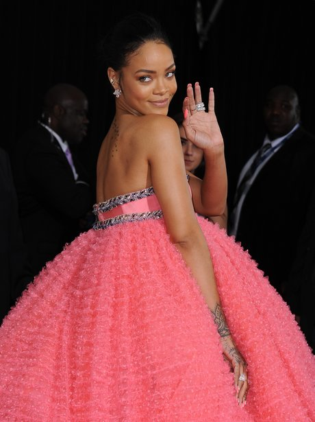 Rihanna at the Grammy Awards 2015