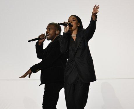 Rihanna, Kanye West and Sir Paul McCartney