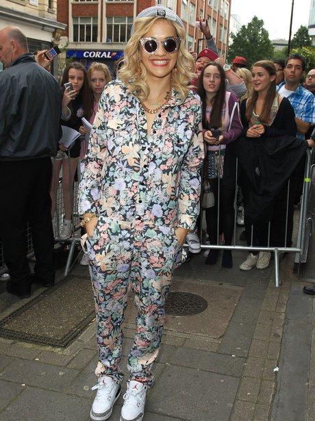 Rita Ora Floral Jumpsuit Trainers