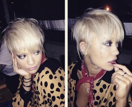 Rita Ora New Hair Instagram