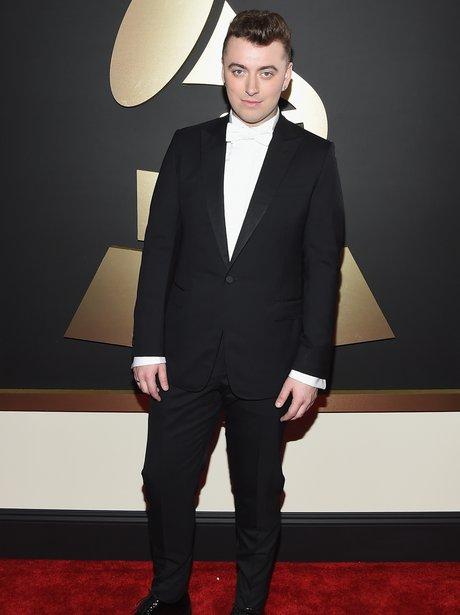 Sam Smith at the Grammy Awards 2015