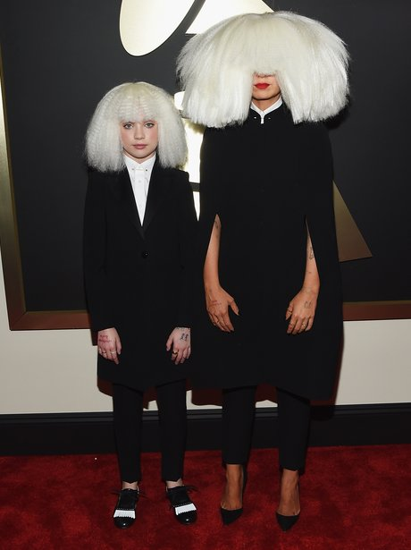 Sia and Maddie Ziegler Grammy Awards 2015