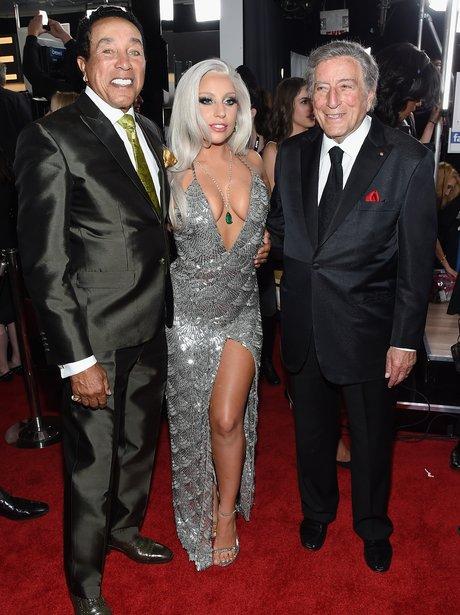 Smokey Robinson, Lady Gaga and Tony Bennet