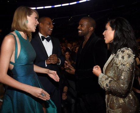 Taylor Swift, Jay Z, Kanye West and Kim Kardashian