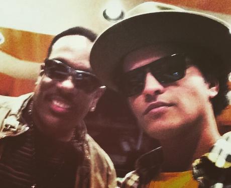 Bruno Mars Charlie King Instagram