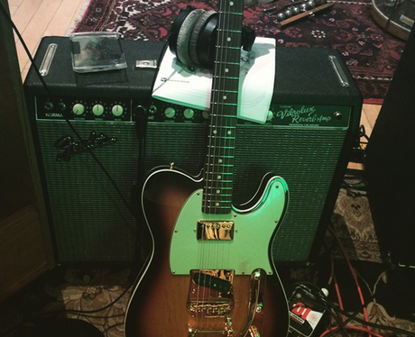 Bruno Mars Guitar Instagram