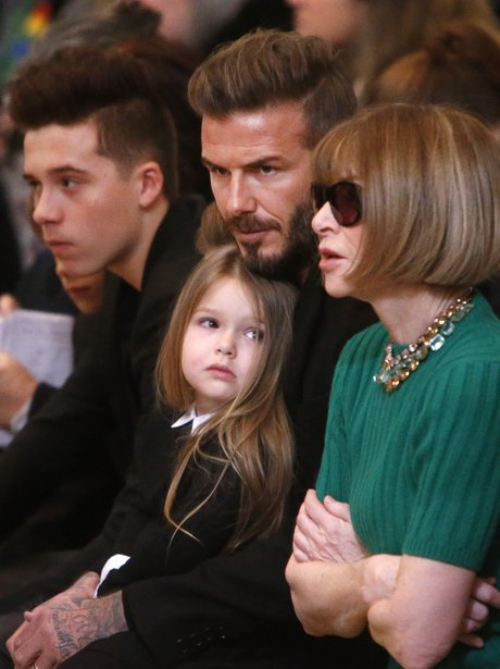 David Bekcham, Brooklyn and Anna Wintour