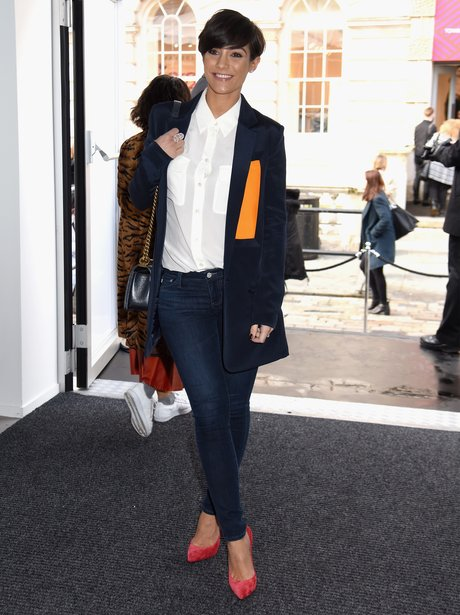 Frankie Sandford London Fashion Week 2015
