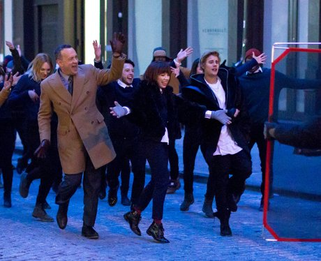 Justin Bieber, Tom Hanks and Carly Rae Jepsen
