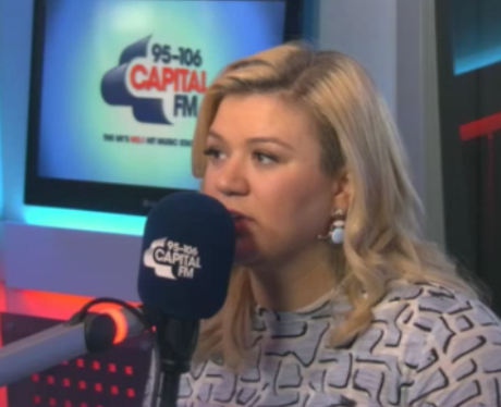 Kelly Clarkson at Capital