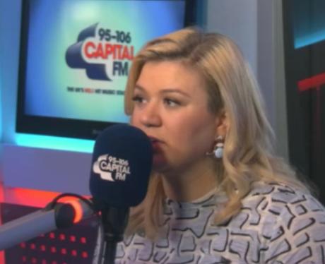 Kelly Clarkson at Capital