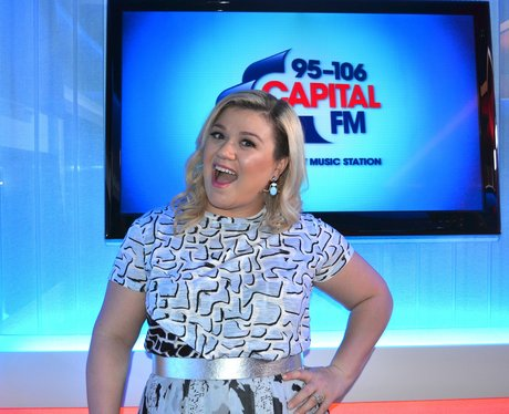 Kelly Clarkson On Capital FM