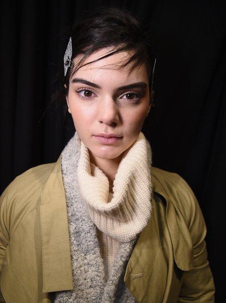 Kendall Jenner Fashion Week 2015