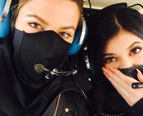 Khloe Kardashian and Kylie