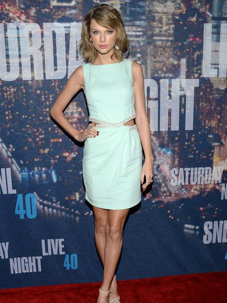 Taylor Swift attends the SNL 40th Anniversary Spec