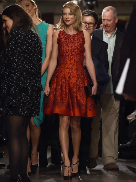 Taylor Swift Fashion Week 2015