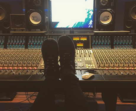 The Vamps Recording Studio 2015 Instagram