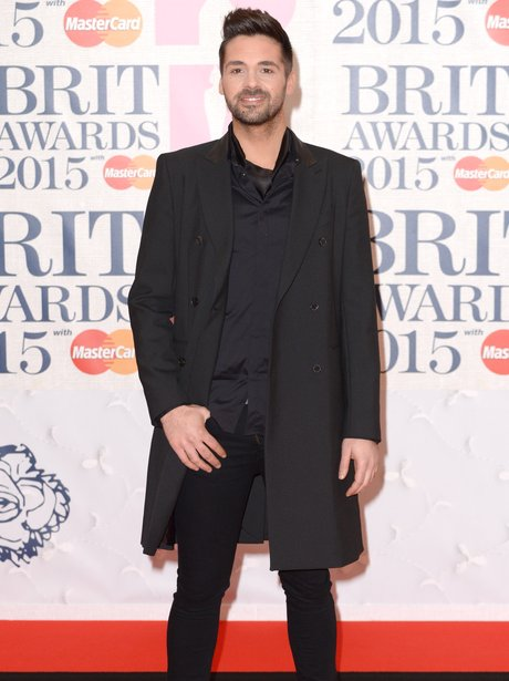 Ben Haenow BRIT Awards Red Carpet 2015