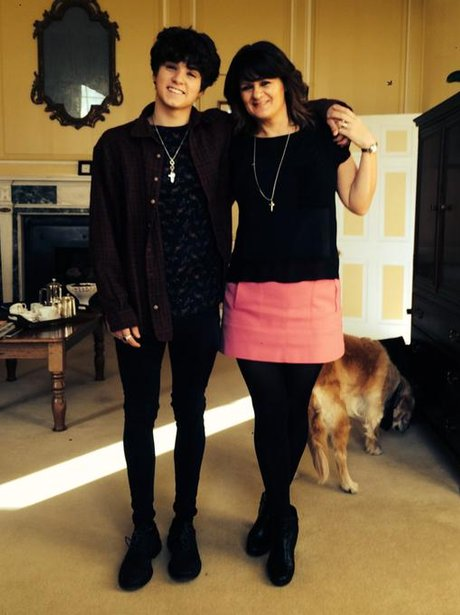 Brad The Vamps and mum