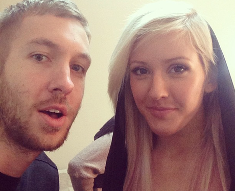 calvin harris dating ellie