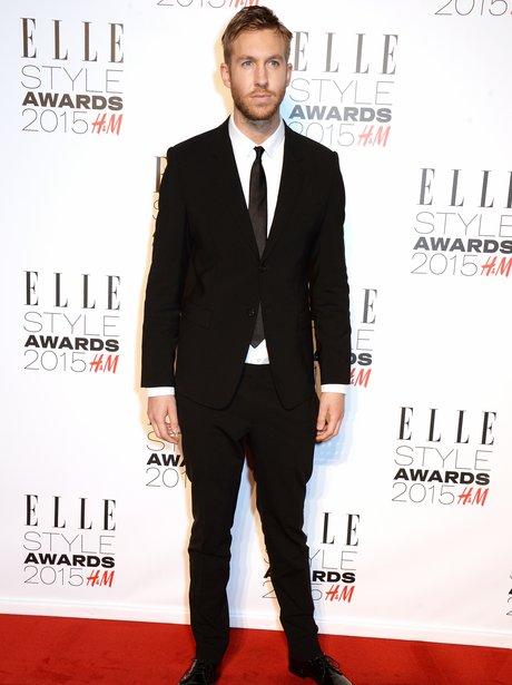 Calvin Harris ELLE Style Awards 2014