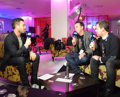 Dave Berry With Ant And Dec BRIT Awards 2015